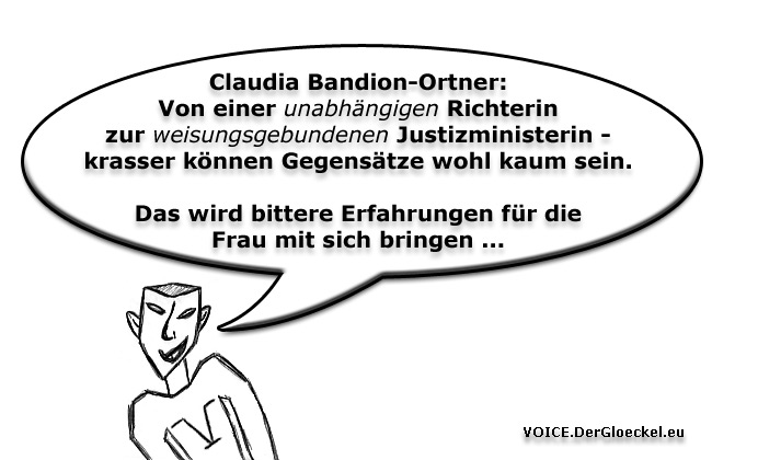 Vom Richeramt zur Politikerin Bandion-Ortner