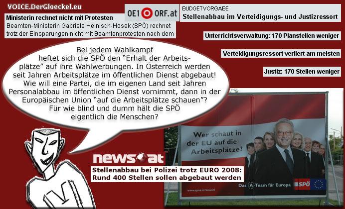 SPÖ EU-Wahlkampf 2009