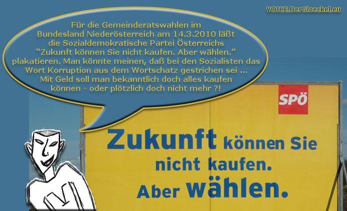 SPÖ-Wahlkampf Niederösterreich