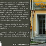 burn-out-Syndrom bei Post AG